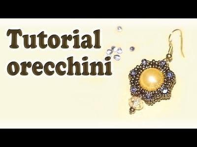 Sarubbest: tutorial perline - DIY orecchini con perline
