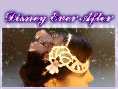 Tutorial: DUCHESS SWAN headpiece tiara - Ever After High halloween or cosplay accessory