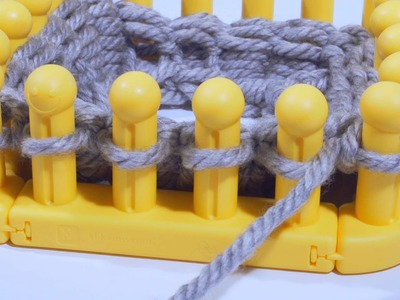 Zippy Loom- How to knit the Brim