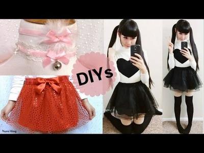 3 Valentines DIYs: DIY Velvet Chokers+ DIY Double Layer Heart Tulle Skirt+ DIY Black Heart Outfit
