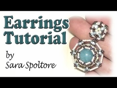 BeadsFriends: beading tutorial - DIY earrings using beads