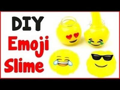 DIY Crafts: How To Make Emoji Slime DIY Slime with 3 Ingredients!