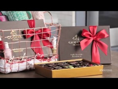 DIY Galentine's Day Gift Set with GODIVA and SheKnows