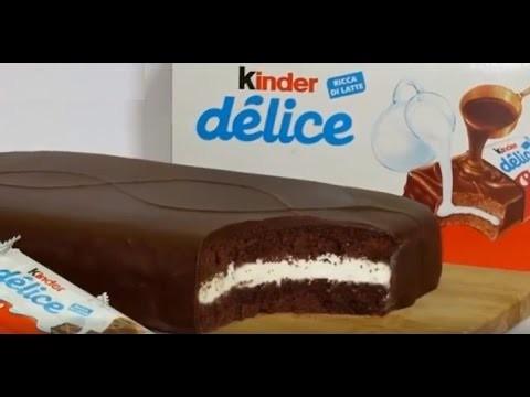 DIY-Giant Kinder Delice Cake