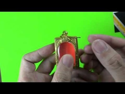 DIY  How to Open THAILAND Buddish Amulet Frame Case Get off & Change Handmade