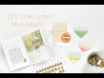 DIY: Love Letter Mini Album