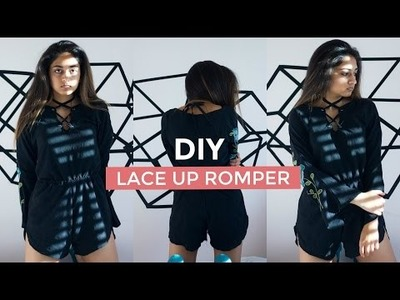 DIY NASTY GAL INSPIRED ROMPER | pacifically