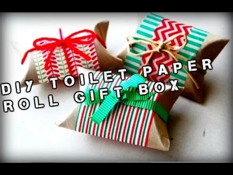 DIY PINTEREST INSPIRED  - TOILET ROLL GIFT BOX