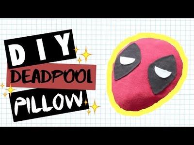 DIY Room Decor • Deadpool Pillow • (No Sew) • heartcindy