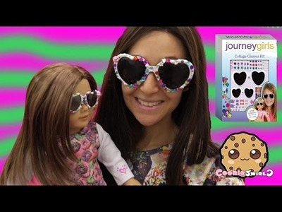 DIY Sunglasses for American Girl Doll with Journey Girls Crafts Decorating Kit Playset