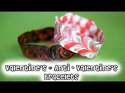 DIY Valentine's Day Bracelets. Easy Handmade Vday Gift
