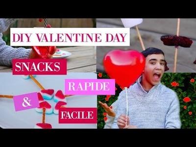 DIY Valentine's day Snacks Rapide & Simple l Justjonathan