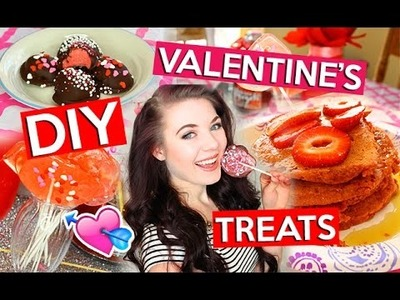 DIY Valentines Day TREATS! ❤
