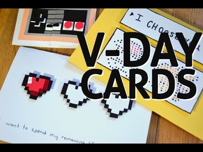 Gaming DIY - Valentine's Day Cards
