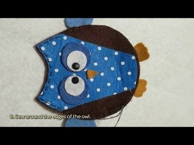 How To Make A Beautiful Felt Owl - DIY Crafts Tutorial - Guidecentral