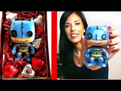 How to make a Custom Funko Pop Tutorial DIY Project Batman Voodoo Doll + Vinyl Painting tips