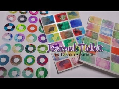 Journal Tidbit - Easy DIY Embellishments for Journals and Mixed Media Projects