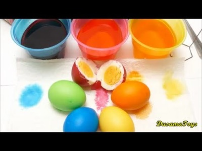 Paas Easter Egg DIY Coloring with The Finger Family Songs DusamaToys
