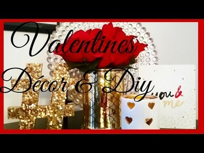 Valentines Decor ~On A Budget~ $1.00 DIY