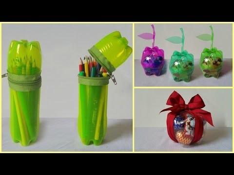 10 DIY Creative Ways to Reuse Plastic Bottles