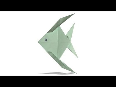 3D Origami Fish | DIY Origami Fish | Learn Origami |  How To Make Easy Origami Fish