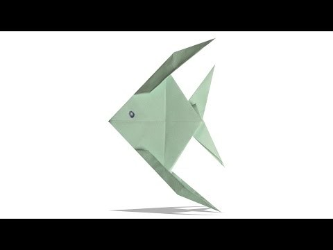 3d Origami Fish Diy Origami Fish Learn Origami How To Make Easy