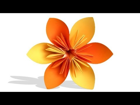 3D Origami Flower | DIY | Learn Origami | How To Make Easy Origami Flower