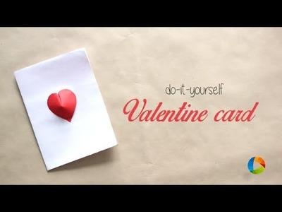 DIY: 3D Heart Valentine Card