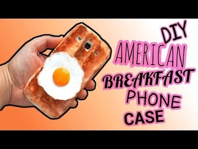 DIY|| American Breakfast Phone case-Tutorial Cover in silicone || Iolanda Sweets