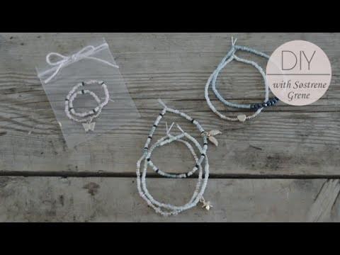 DIY: Bracelet with beads by Søstrene Grene