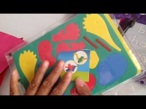 DIY BUSY BAGS FOR SLIGHTLY OLDER CHILDREN
