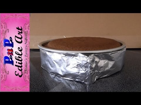DIY Cake Baking Strip