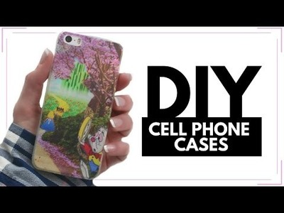 DIY Cell Phone Cases!