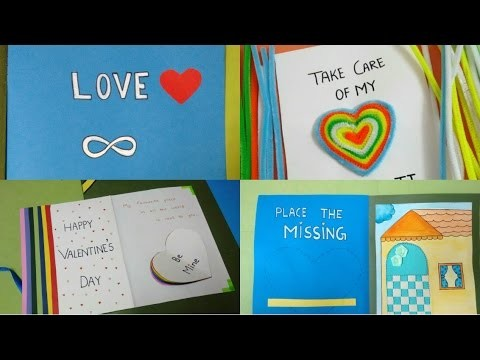 DIY Creative Valentine's Day Card | By Srushti Patil |