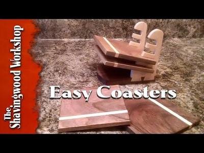 DIY: Easy Drink Coasters