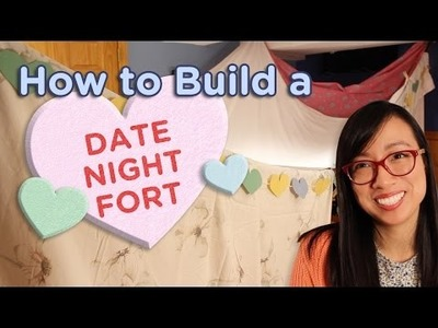 DIY: How to Build a Romantic Date Night Fort. Forts n Crafts