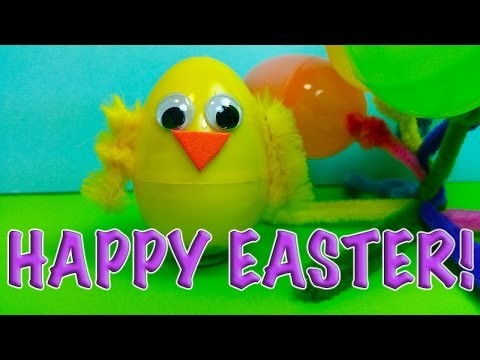 DIY: How to Make 5 Fun and Easy EASTER Crafts for Kids!
