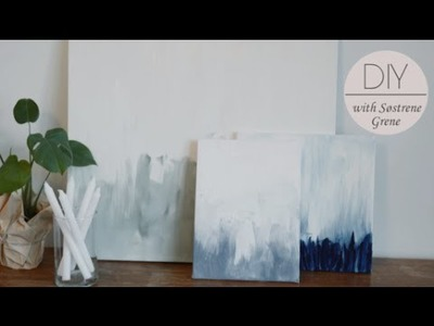 DIY: How to make art for your home by Søstrene Grene