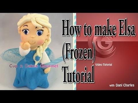 DIY : How to make Elsa ( Frozen ) Super Easy