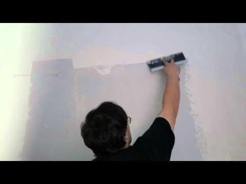 Diy how to remove wall texture orange peel first coat
