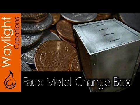 DIY Make A Wood Coin Sorter Box - The Coin Vault