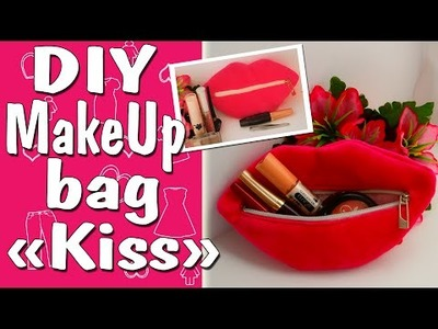 DIY Makeup Bag. How to make cosmetic bag?