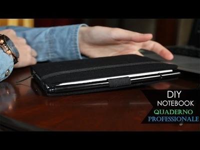 DIY Notebook ⊰ Moleskine Journal Sketchbook | Quaderno Professionale