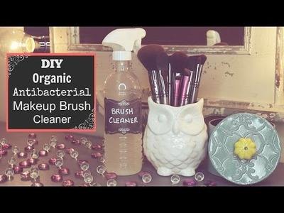 DIY Organic Antibacterial Makeup Brush Cleaner