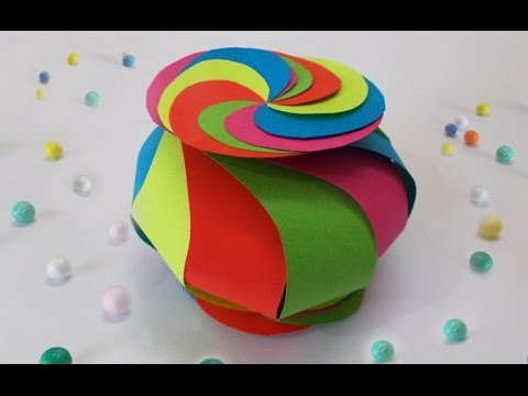 DIY Projects : How to Make Cute Twisted Paper Box I Easy DIY Crafts for Kids