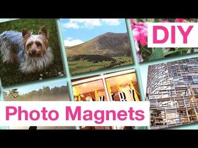 DIY Quick & Easy Photo Magnets