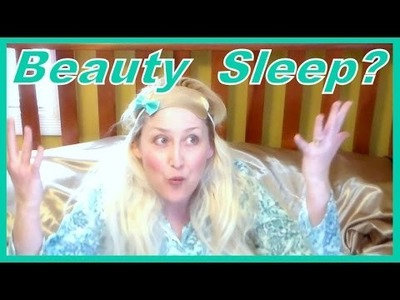 DIY Satin Eye Mask.Get Your Beauty Sleep!