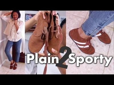 DIY Sporty Booties | Easy Clothes Transformations Ep.2 | Blueprint DIY