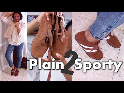 DIY Sporty Booties | Easy Clothes Transformations Ep.2 | Blueprint DIY