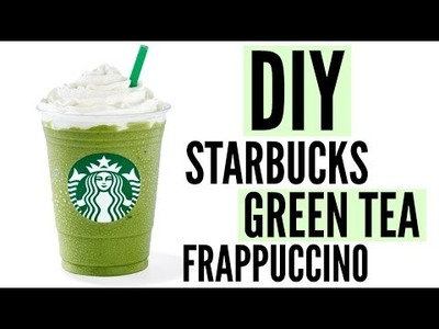 DIY Starbucks Green Tea Frappuccino | BEST RECIPE!!